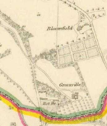 Greenville and Bloomfield, mid 1830s