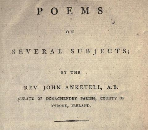 Ankatell's Poems, 1793